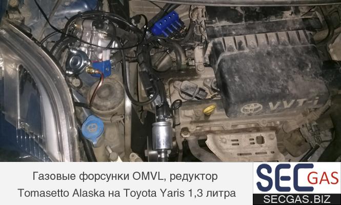 Форсунки OMVL на Toyota Yaris